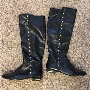 Michael Kors tall riding boots